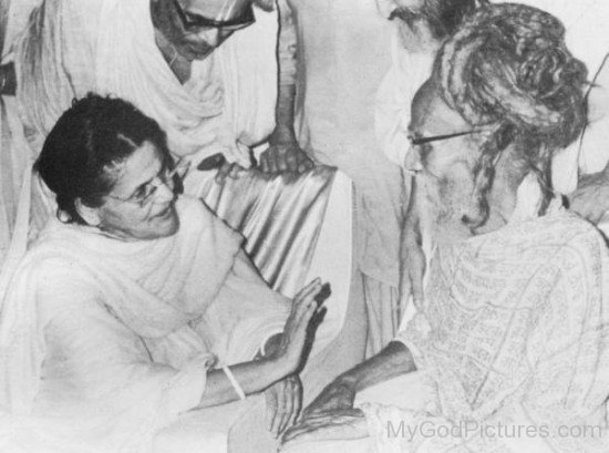 Sitaramdas Omkarnath Ji With Anandamayi
