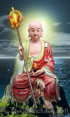 Statue Of Maudgalyayana