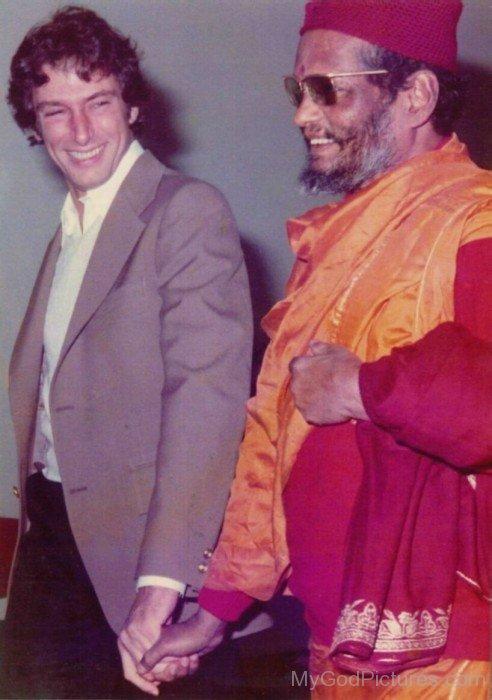 Swami Muktananda Ji With Werner Erhard