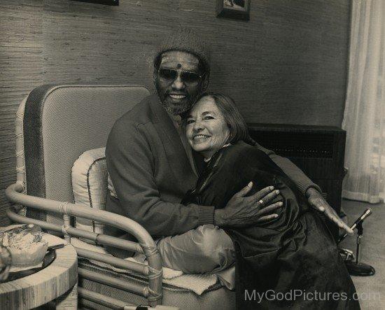 Swami Muktananda With Lenore G Tawney