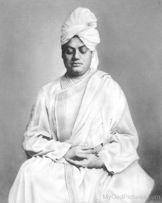 Swami Vivekananda Doing Meditation