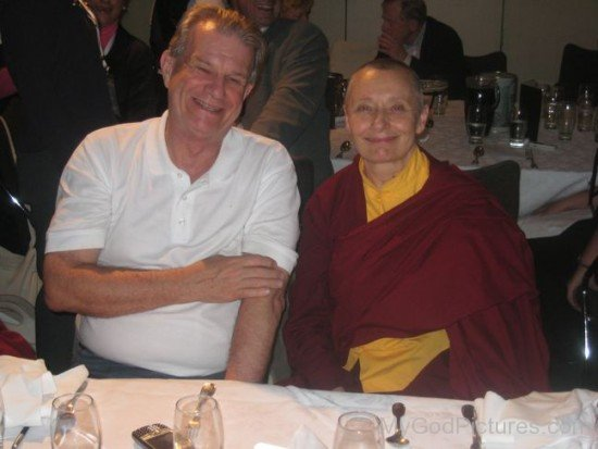 Tenzin Palmo With Bill Crews