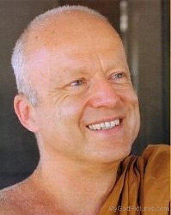 Thanissaro Bhikkhu Smiling