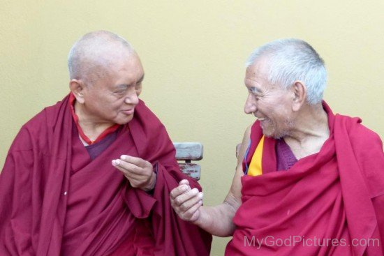 Thubten Zopa Rinpoche And Choeding Rinpoche