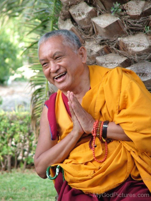 Thubten Zopa Rinpoche Laughing