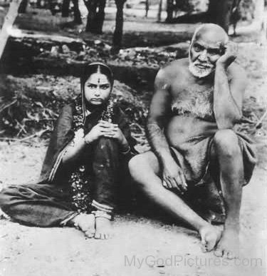 Upasni Maharaj With Maa Godavari