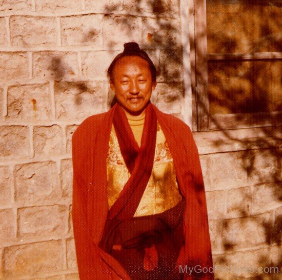 Young Chagdud Tulku Rinpoche