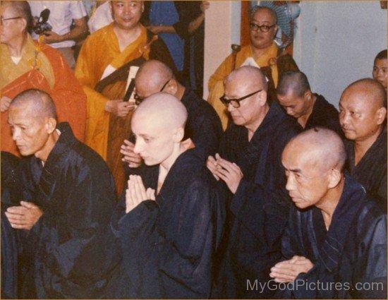 Young Tenzin Palmo