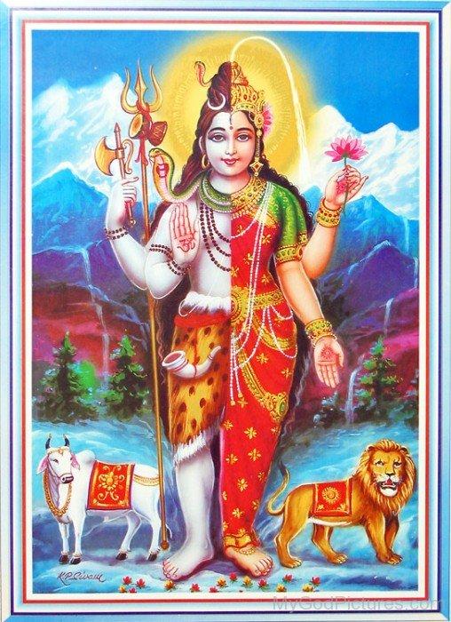 Ardhanarishvara Frame Picture