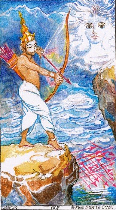 Bhishma Holding Archery