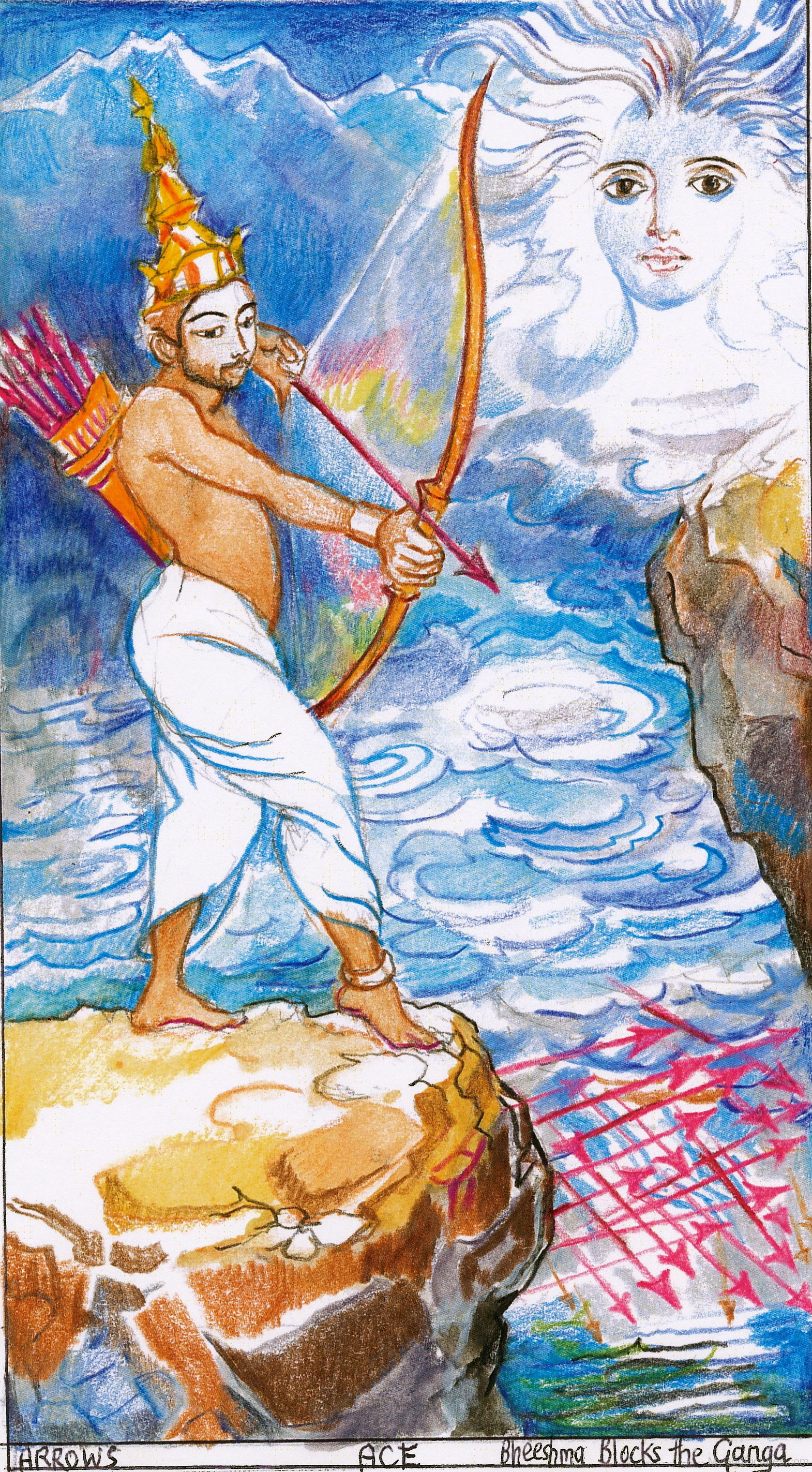 Bhishma Holding Archery God Pictures