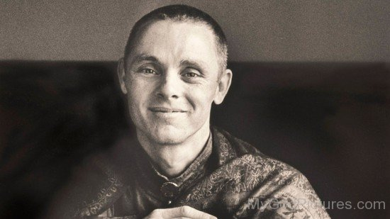 Black And White Image Of Adyashanti