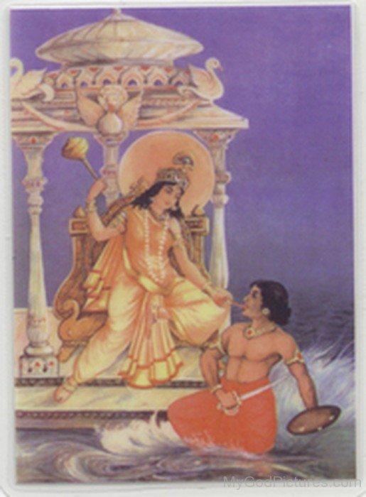 Goddess Bagalamukhi Picture