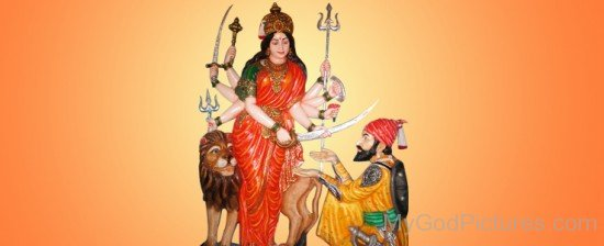 Goddess Bhavani Image