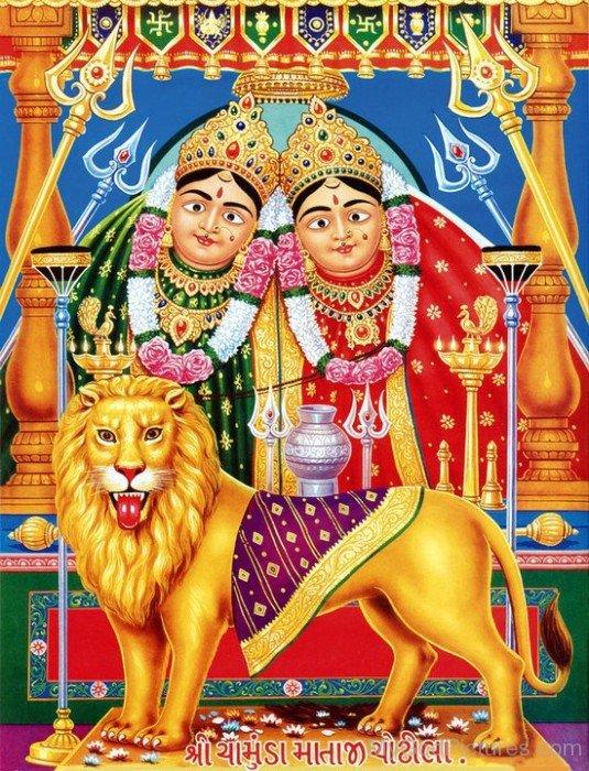 Goddess Chamunda Image
