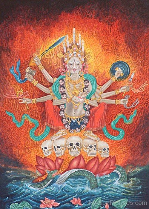 Goddess Chamunda Picture