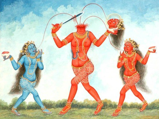 Goddess Chhinnamasta Image