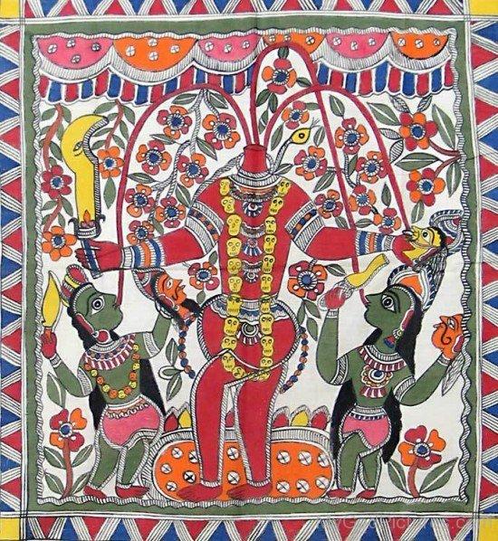 Goddess Chhinnamasta Portrait