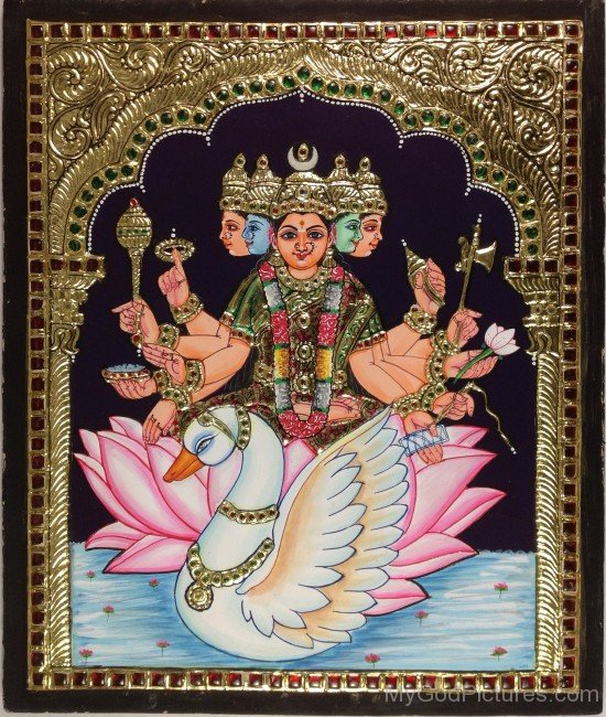Goddess Gayatri Photo