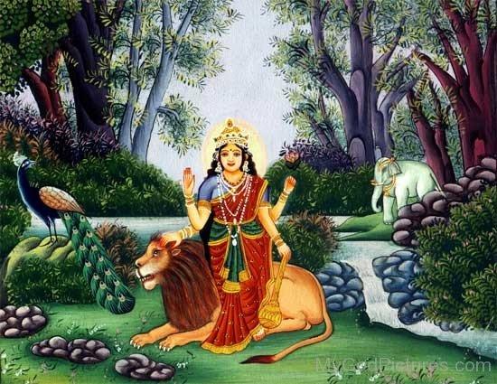 Goddess Katyayini Image