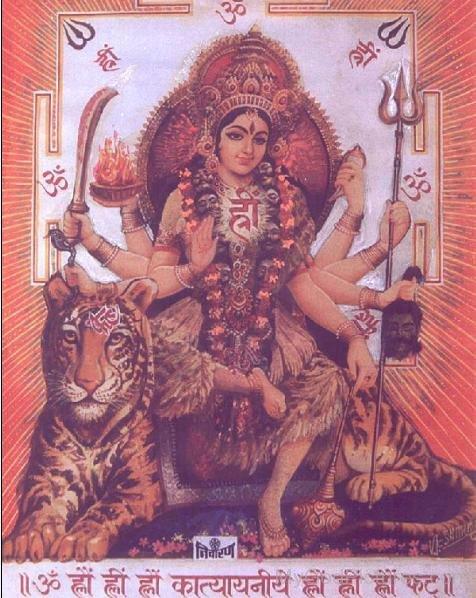 Goddess Katyayini Picture
