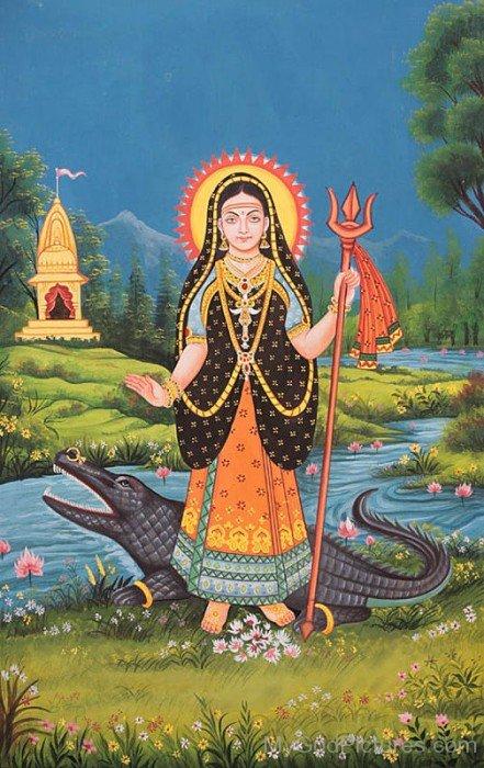 Goddess Khodiyar