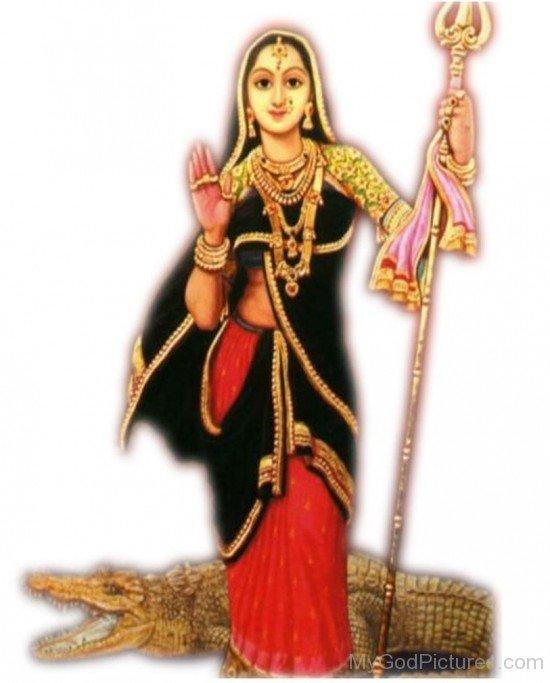 Goddess Khodiyar Picture
