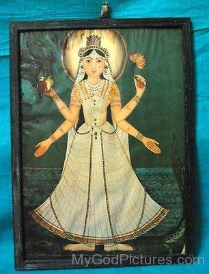 Goddess Khodiyar Portrait