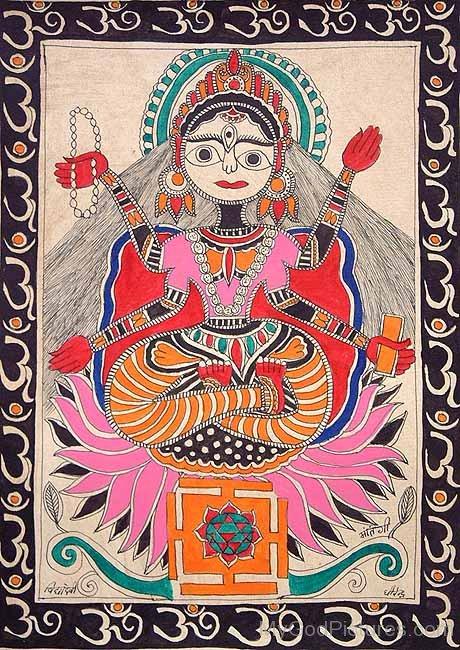 Goddess Matangi Devi