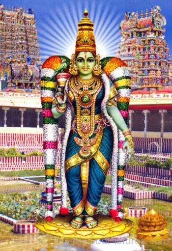 Goddess Meenakshi
