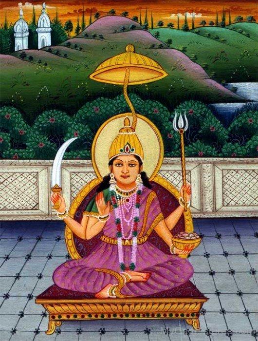 Goddess Santoshi Image