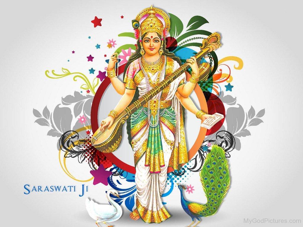 Download Wallpaper Lord Bhadrakali - Goddess-Saraswati-Photo  Graphic_194758.jpg