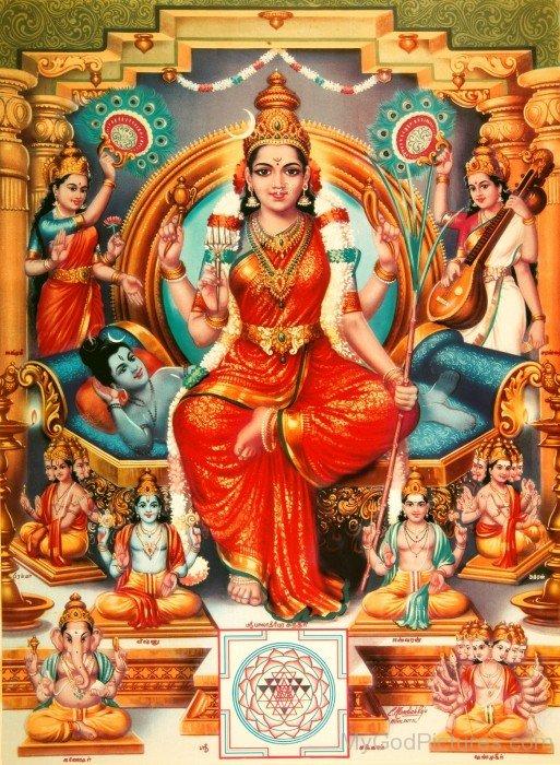 Goddess Tripura Sundari