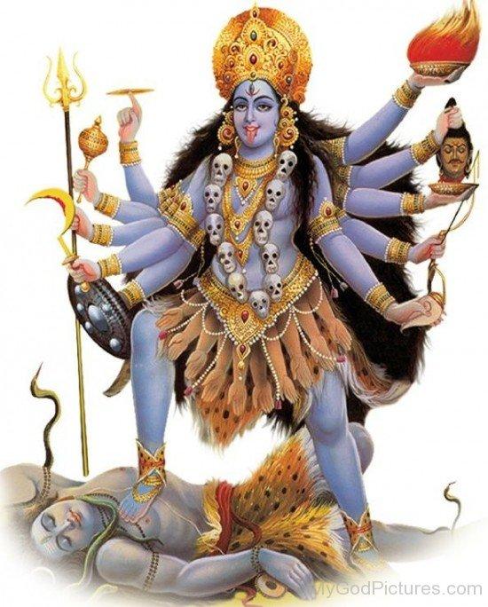 Image Of Goddess Bhadrakali