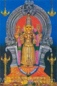 Image Of Goddess Mariamman