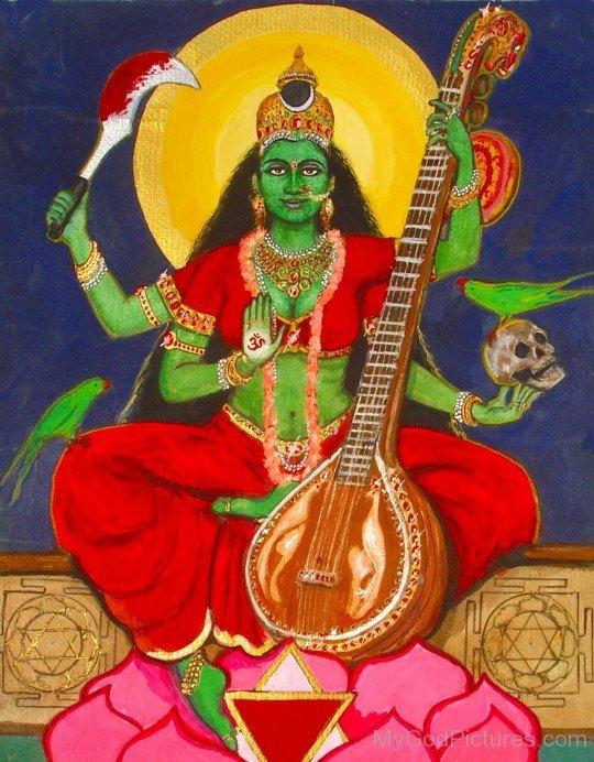 Image Of Goddess Matangi