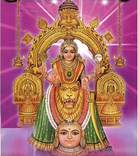 Image Of Goddess Mookambika
