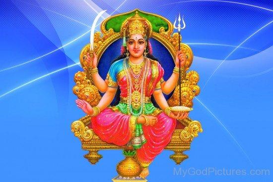 Image Of Goddess Santoshi