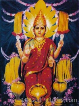 Image Of Goddess Shantadurga