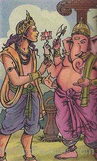 Image Of Lord Kartikeya And Lord Ganesha