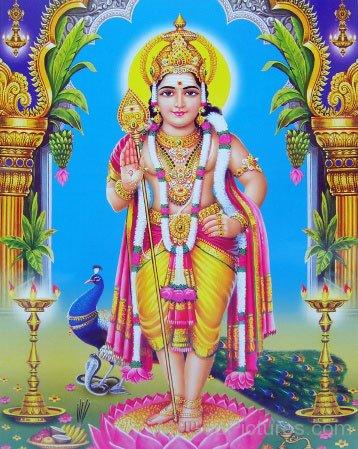 Image Of Lord Kartikeya