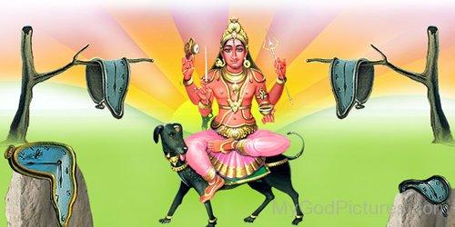Lord Bhairava Mount On Dog