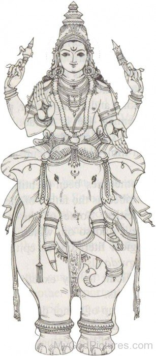 Lord Indra Sketch
