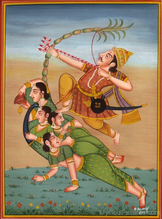 Lord Kamadeva Frame Picture