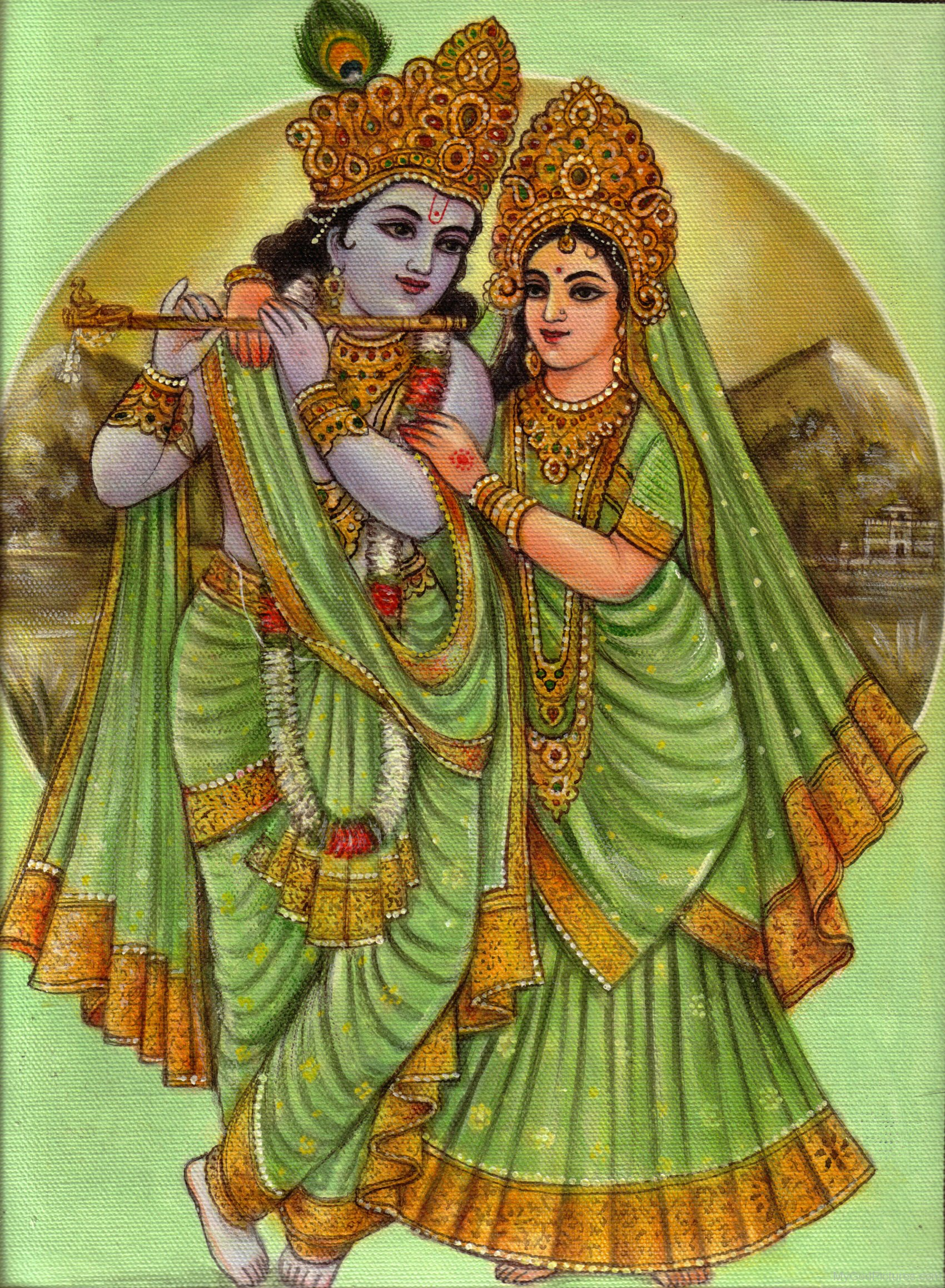 Famous Hindu Religious Paintings