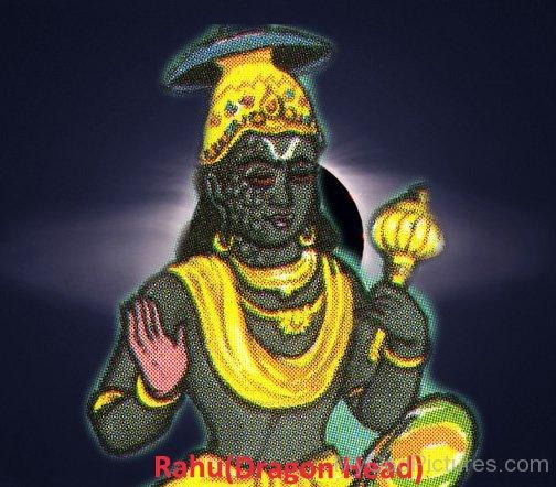 Lord Rahu Image