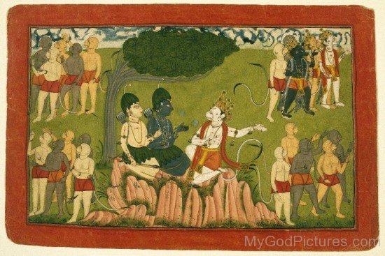Lord Rama And Lord Lakshmana Image