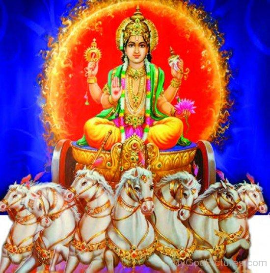 Lord Surya Image