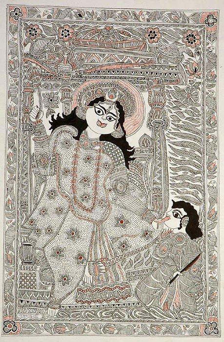 Mahavidya Goddess Bagalamukhi