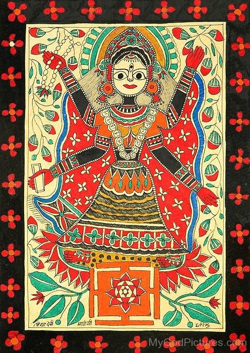 Mahavidya Goddess Matangi